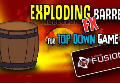 Exploding Barrel FX (top down game) Video Tutorial