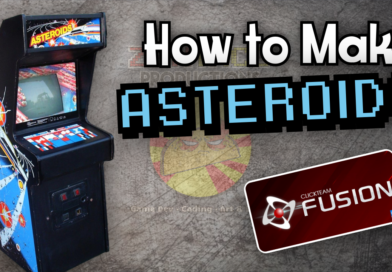 Asteroids tutorial for Clickteam Fusion 2.5